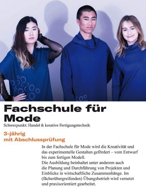 Fachschule Mode